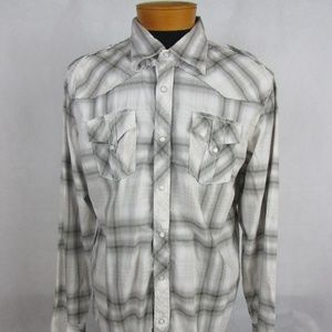 Buckle BKE Slim Fit Western Long Sleeve Pearl snap